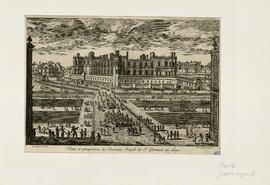 Adam Pérelle, Veue et perspective du chasteau royal de Saint-Germain-en-Laye