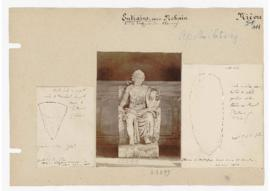 Deux dessins de haches de la collection Jullien