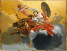 Simon Vouet, La Force